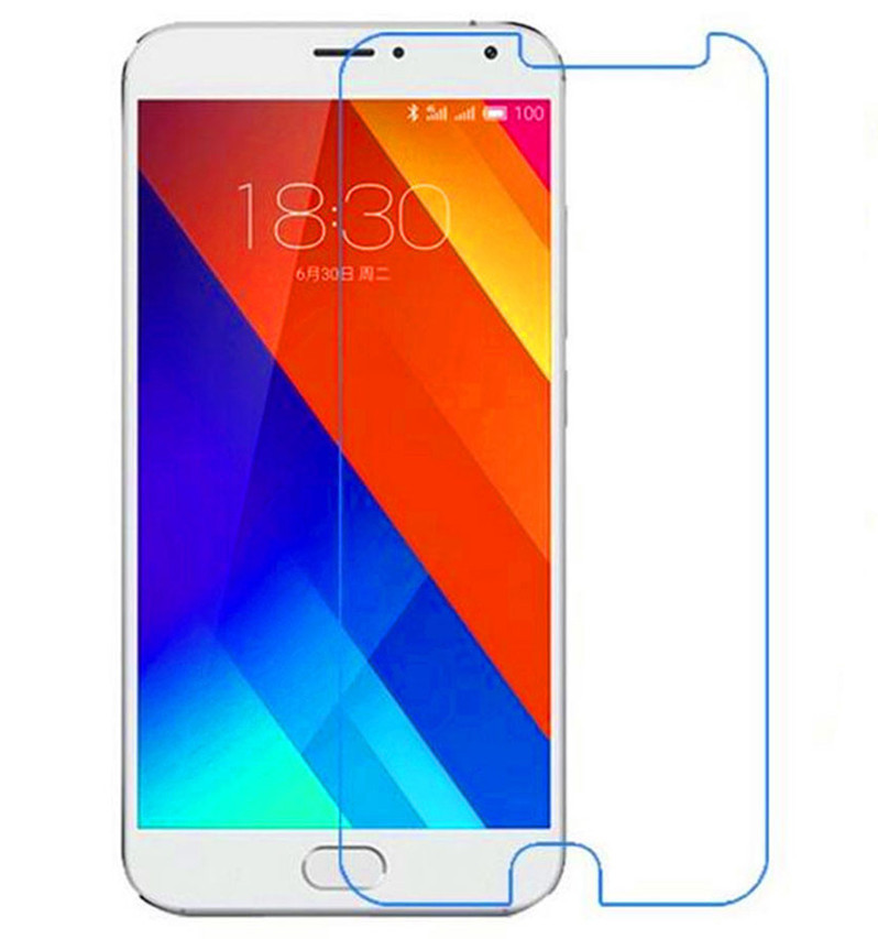 Противоударное защитное стекло Crystal на Meizu MX6