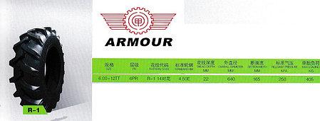 6,00-12 6PR TT R1 ARMOUR, фото 2