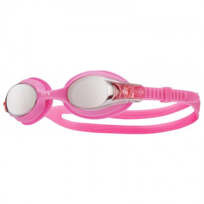 Очки для плавания детские TYR Swimple Mirrored 661