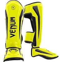 Щитки для ног Venum Elite Neo Yellow