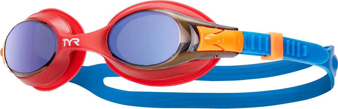 Очки для плавания детские TYR Swimple Mirrored 424