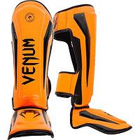 Щитки для ног Venum Elite Neo Orange