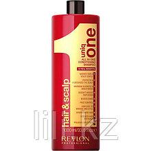 Шампунь-кондиционер очищающий Revlon Uniq One Conditioning Shampoo 1000 мл.