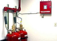 Техническое обслуживание газового пожаротушения