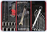 Тележка инструментальная с набором инструментов SPIN 196 предметов, фото 4