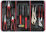 Тележка инструментальная с набором инструментов SPIN 196 предметов, фото 5