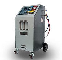 Установка для заправки автокондиционеров GrunBaum AC3000, полуавтоматическая, R134, без принтера