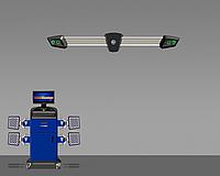 Стенд сход-развал 3D Техно Вектор 7 T7204KA