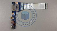 USB и AUDIO плата, порт, разъем VIUS3 LS-8953P Rev. 2.0  LENOVO S400 Touch