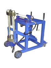 Выпрессовщик шкворней Strongbel HVPT75 75 тонн с тележкой и насосом
