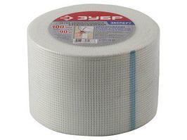 Сетка армировочная ЗУБР Эксперт 12465-10-90 (стеклотканевая, самоклеящаяся, 3х3мм, 10см х 90м)