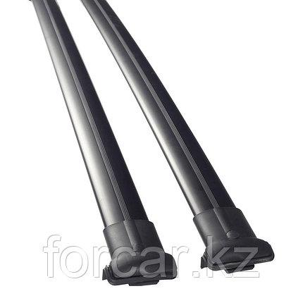 Комплект поперечин (дуг) на стандартные рейлинги CAN Diamond (Турция)122см черные, фото 2