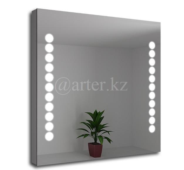 Зеркала с LED- подсветкой и пескоструйным рисунком