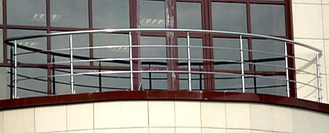 Нержавейка на балкон