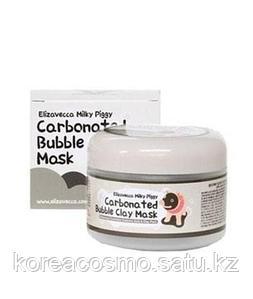 Elizavecca Очищающая глиняно-пузырьковая маска для проблемной кожи Milky Piggy Carbonated Bubble Clay Mask
