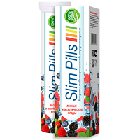 Шипучие таблетки Slim Pills для похудения