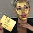 Маска Kaprielle 24K Gold Mask из сусального золота (омолаживающая), фото 7