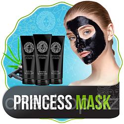 Черная маска-пленка Princess Mask от прыщей и черных точек