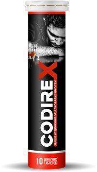Шипучие таблетки от алкоголизма Codirex