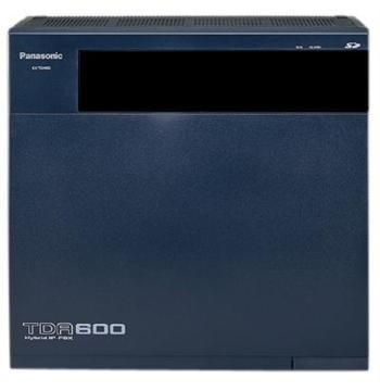 Мини-АТС Panasonic KX-TDA600RU Черный