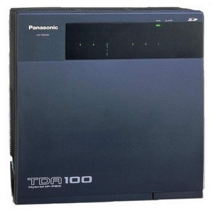 Мини-АТС Panasonic KX-TDA100DUP Черный