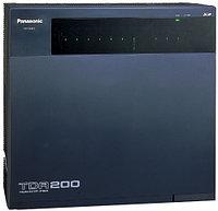 Мини-АТС Panasonic KX-TDA200RU Черный