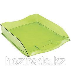 Лоток для бумаг горизонтальный Berlingp зеленый