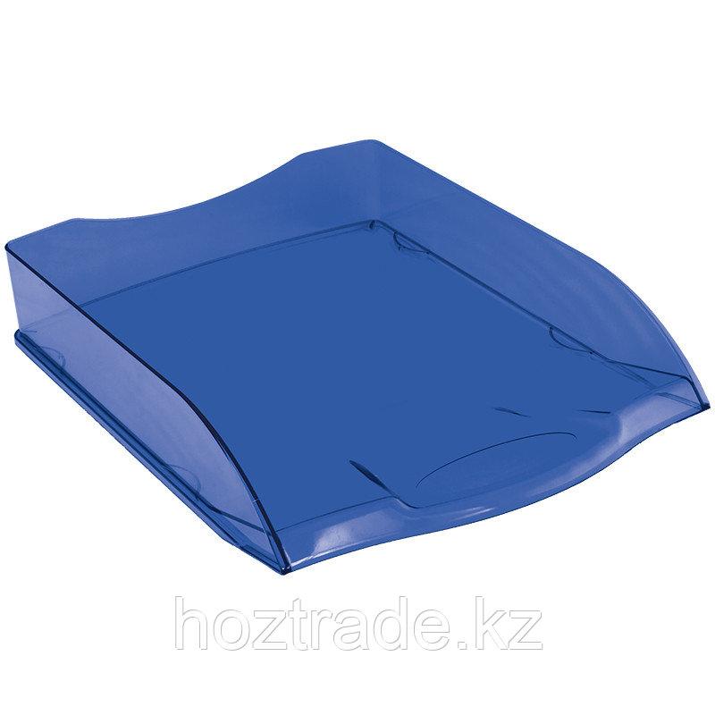 Лоток для бумаг горизонтальный Berlingo синий