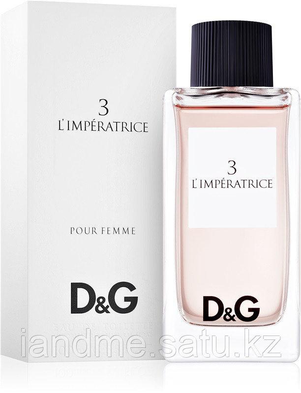 Dolce & Gabbana 3 L'imperatrice 100 Женский edp