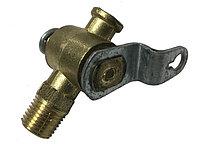 4591677-112 Кран сливной блока ГАЗ ПС7-1 (короткий рычажок)
