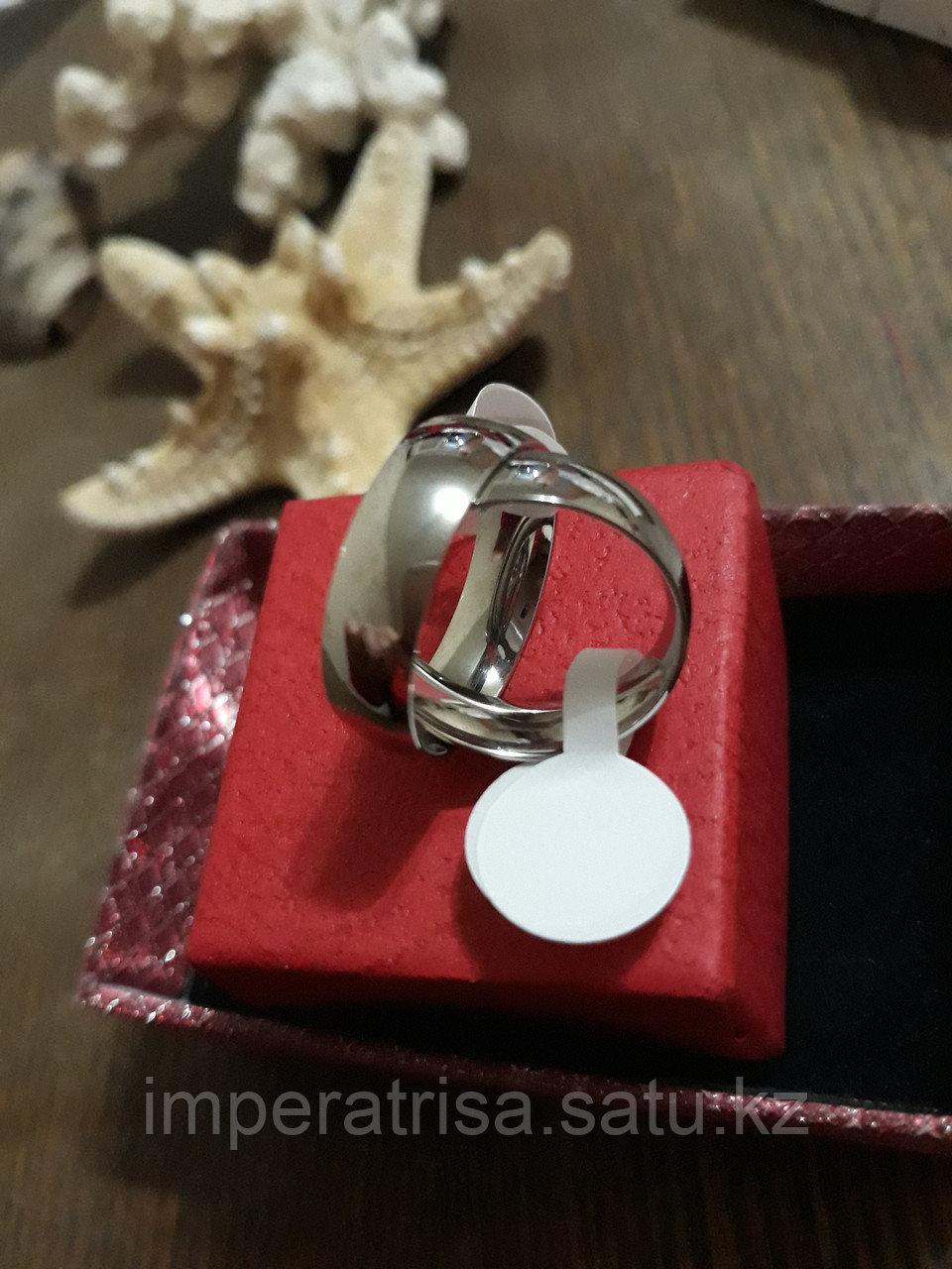 """Парные кольца для влюблённых """"Классика под серебро"""""""