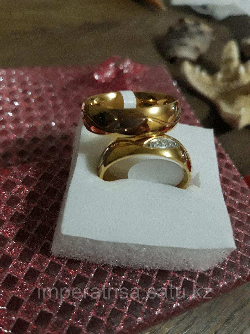"""Парные кольца для влюблённых """"На веки под золото"""""""