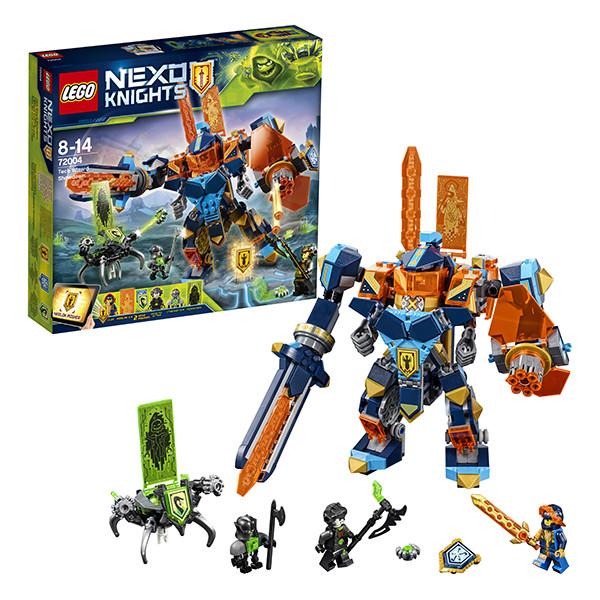 Lego Нексо Решающая битва роботов 72004