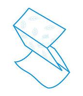Бумажные полотенца.