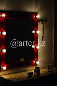 Зеркало гримерное с лампами 1