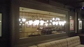 Зеркало в ресторан 1