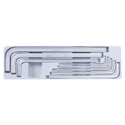 Набор Г-образных шестигранников 3-14 мм, 8 предметов KING TONY 20208MR01