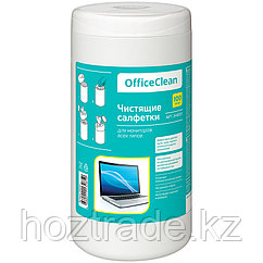 Салфетки чистящие для мониторов OfficeClean (100 шт)