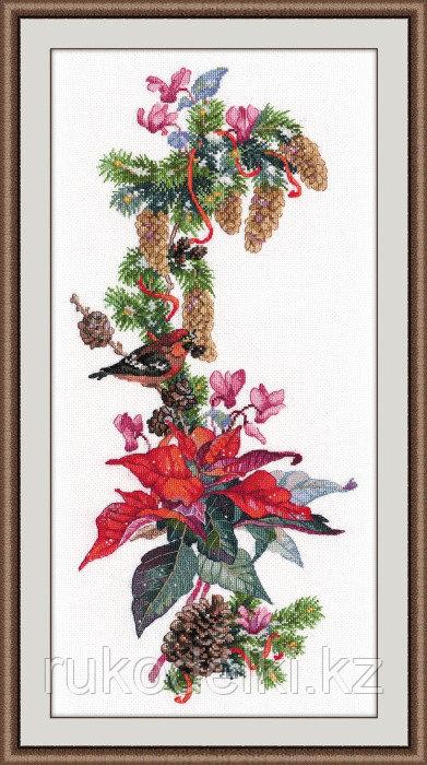"""Набор для вышивания крестом """"Рождественская звезда"""""""