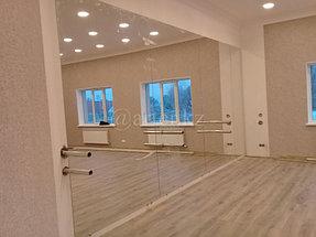 Установка зеркала в хореографический зал 3
