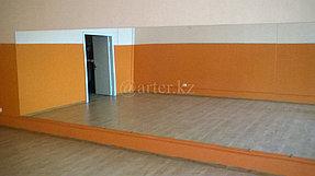 Установка зеркала во всю стену в танцевальный зал 2
