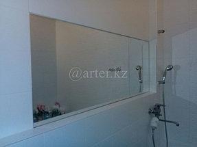 Большое зеркало в ванную комнату 1