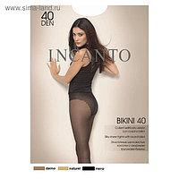 Колготки женские INCANTO Bikini 40 den, цвет чёрный (nero), размер 4