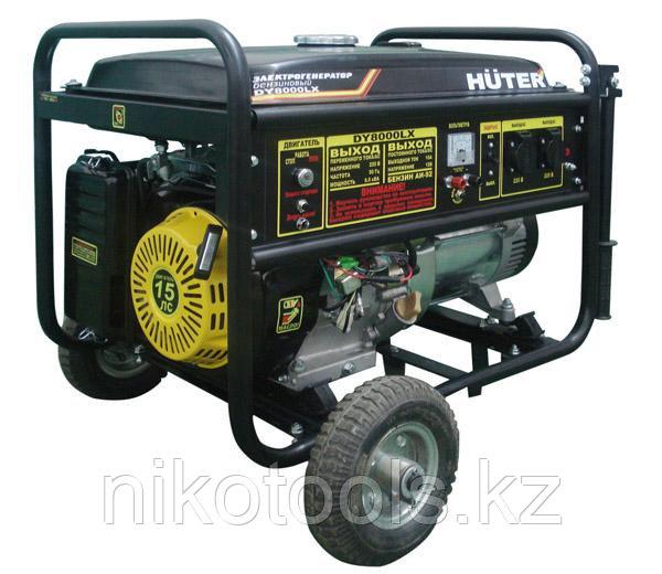 Электрогенератор Huter 8000LX DY с колесами