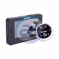 Видеоглазок дверной с функцией записи видео/фото по движению, ночной режим работы REXANT