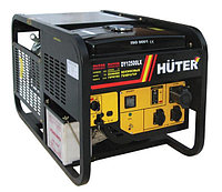 Электрогенератор Huter 12500LX DY с колесами