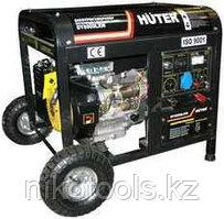 Бензиновый электрогенератор Хутер DY6500LXW с функ. сварки, с колесами