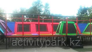 г. Усть-Каменогорск батутная арена