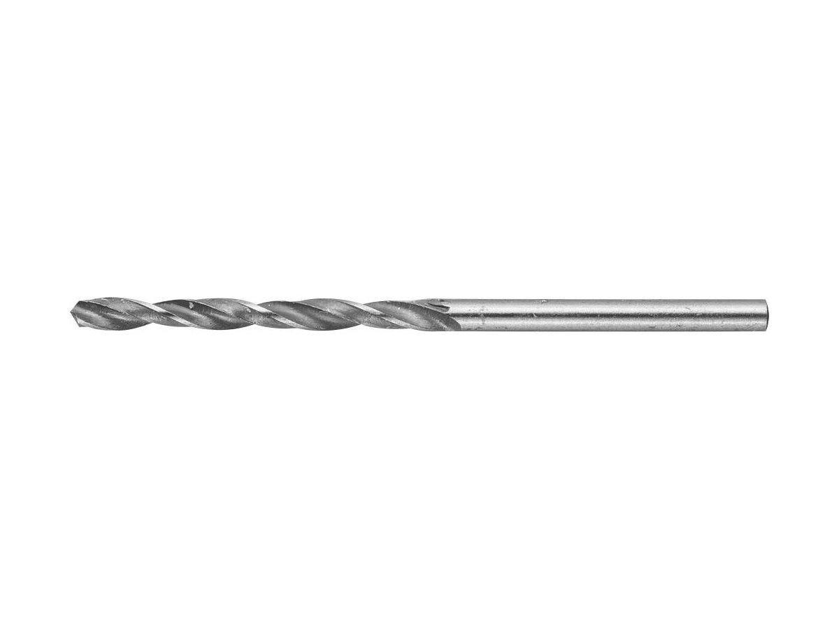 """(4-29621-061-3) Сверло ЗУБР """"МАСТЕР""""  по металлу, цилиндрический хвостовик, d 3мм, быстрорежущая сталь Р6М5"""