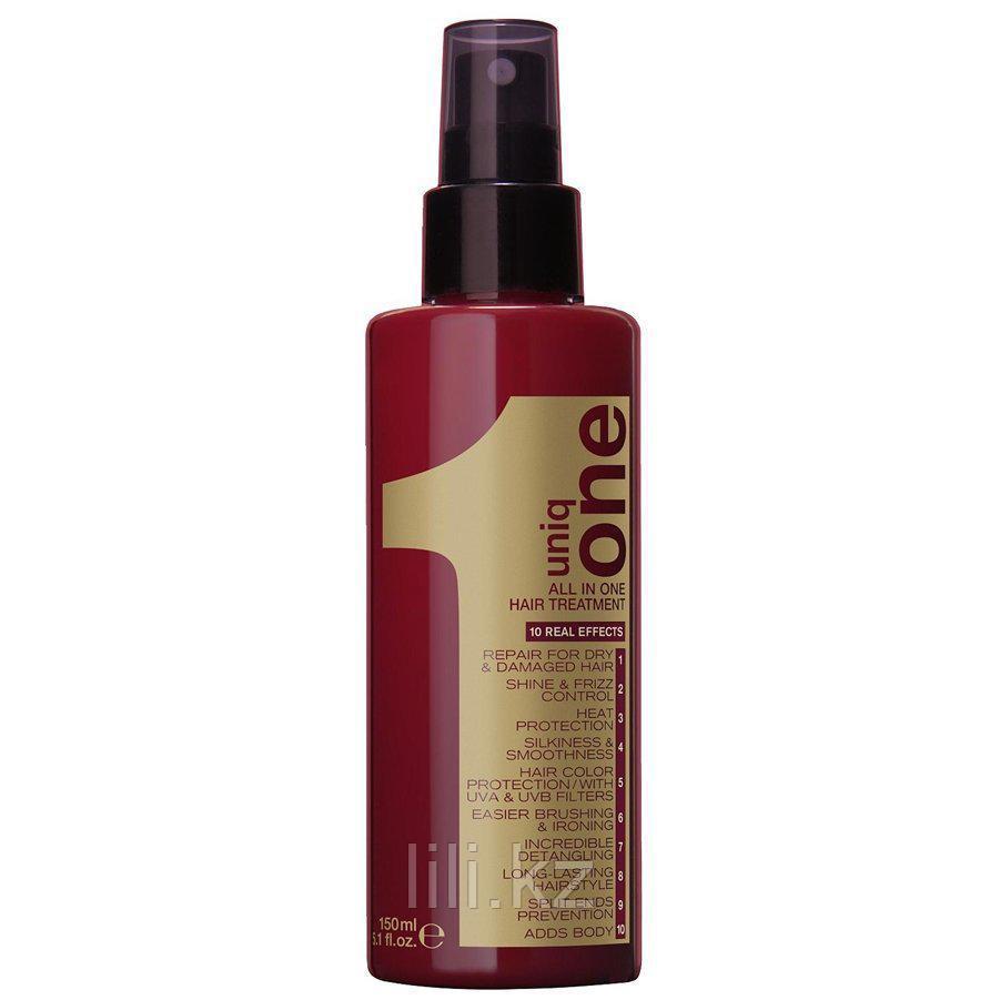 Несмываемая спрей-маска Revlon Uniq One All In One Hair Treatment 150 мл.